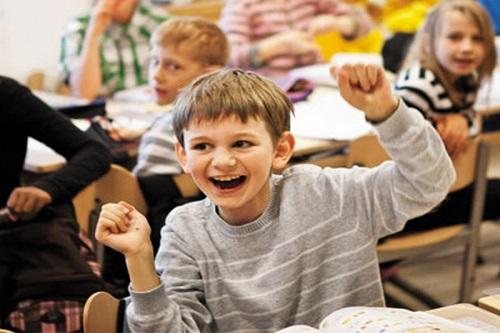 Học sinh ở các nước Châu Âu được tạo niềm hứng khởi