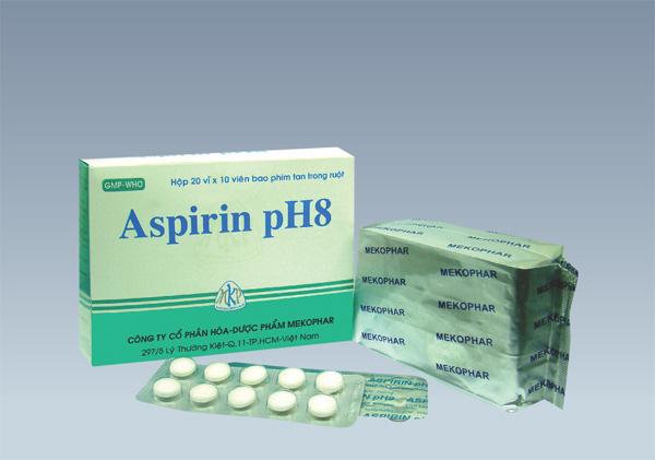 Thuốc Aspirin pH8 có công dụng và cách dùng như thế nào?