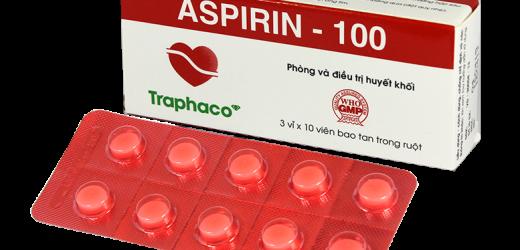 Những điều cần biết về thuốc Aspirin 100mg