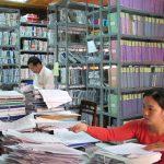 mô tả công việc văn thư hành chính