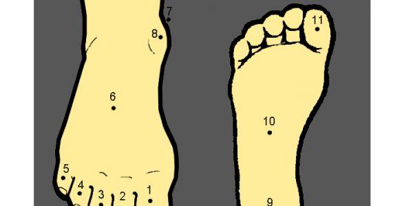 Nốt ruồi ở lòng bàn chân đem lại may mắn cho chủ nhân